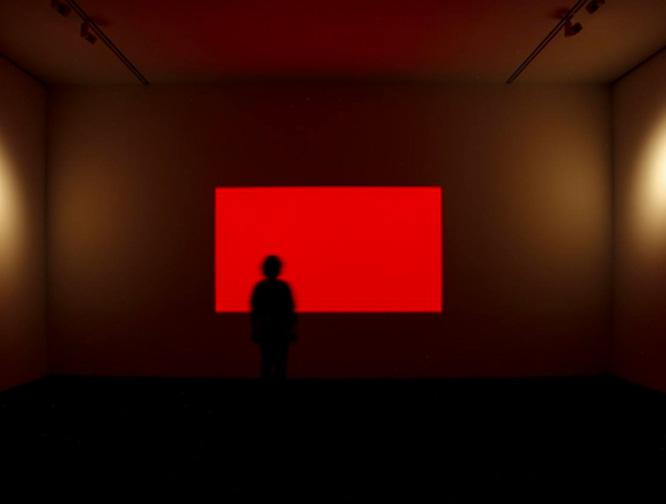 Cherry, instalación artística expuesta en el Museo Picasso Málaga