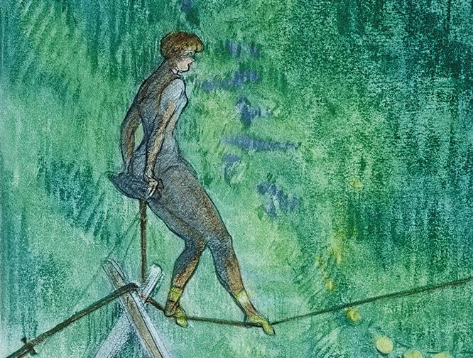 Los malabarismos estéticos de Toulouse-Lautrec