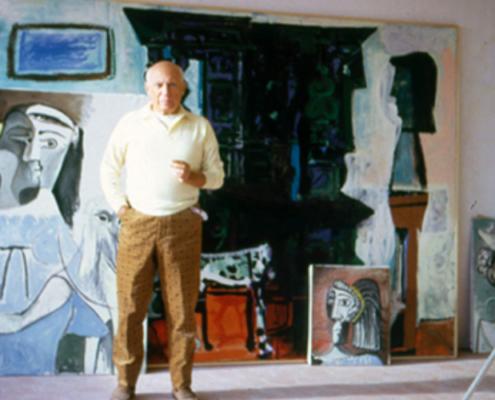 Picasso visto por Otero