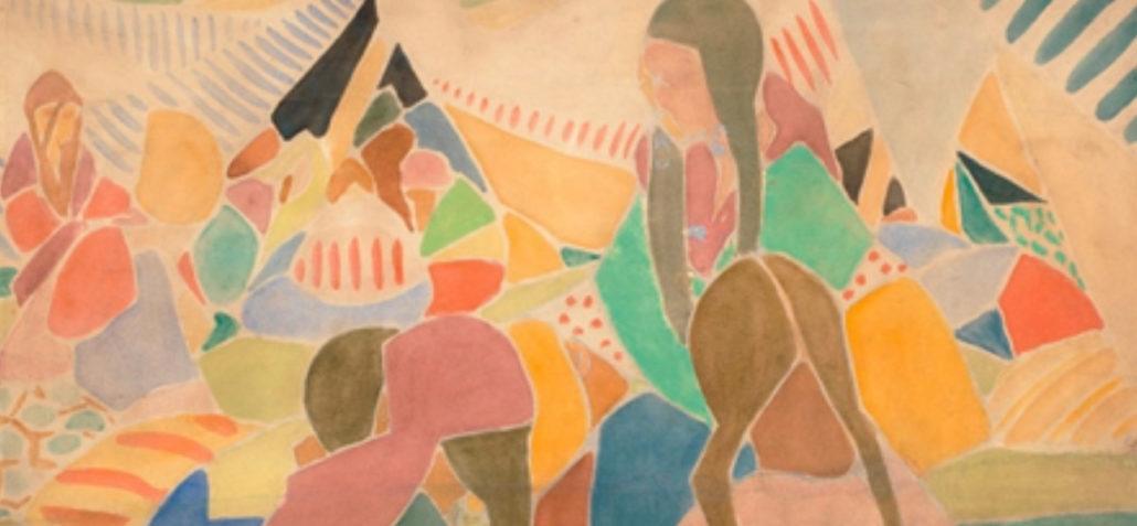 Vanguardia dibujada [1910-1945]. Colecciones Fundación Mapfre