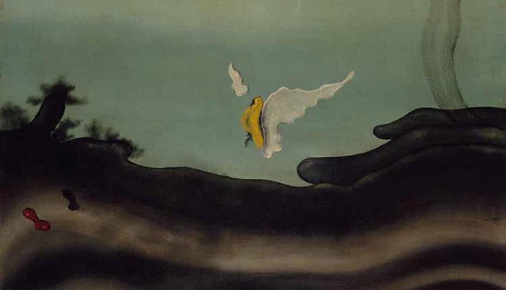 A las cuatro en verano, la esperanza… (1929) (Yves Tanguy)