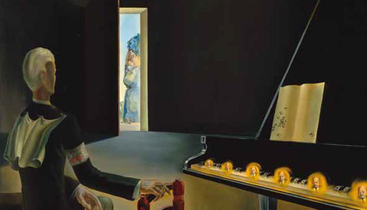Alucinación parcial. Seis imágenes de Lenin sobre un piano