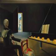 "Obra expuesta en ""De Miró a Barceló. Un siglo de arte español"" (Centre Pompidou Málaga)"