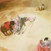 El chorro de sangre (1936), André Masson