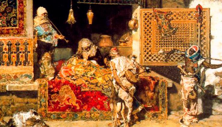 El vendedor de tapices