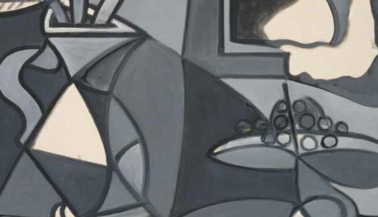 Florero y frutero (1943) Pablo Picasso