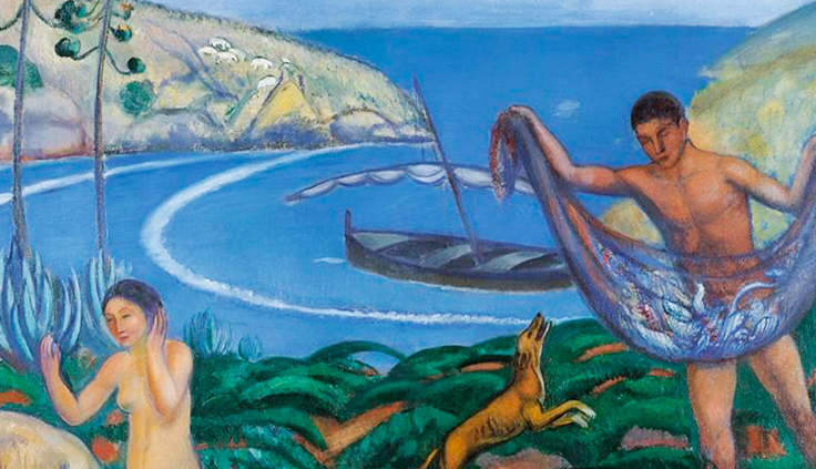 Mediterráneo (1910) Joaquim Sunyer